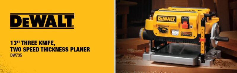 dewalt dw735 planer best woodworking tools