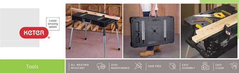 keter workbench best woodworking tools