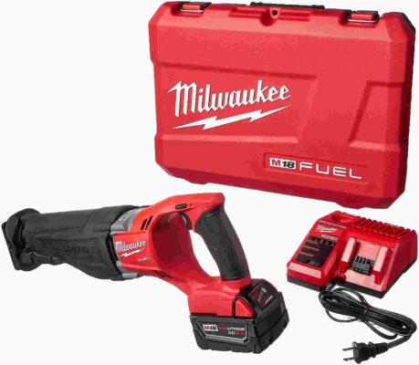 Milwaukee 2720-21 M18 Fuel Sawzall Reciprocating Saw Kit Milwaukee Hackzall